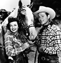 ROY ROGERS SHOW   1951          Roy Rogers and Dale Evans
