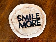 Smile More - Holzachterbahn von woodlovers auf DaWanda.com