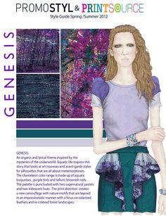 Printsource New York Surface Design Textile Trends 2012 Spring Premier Fabrics, Chameleon Color, Design Textile, New York, Textiles, Trade Show, Apparel Design, Style Guides, Print Patterns