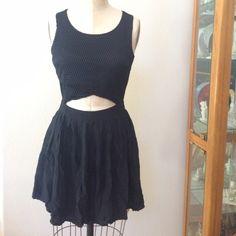 LF Millau Gorgeous Mesh Top Mini Black Dress Gorg dress so obsessed with it never worn but I have way too many dresses LF Dresses Mini