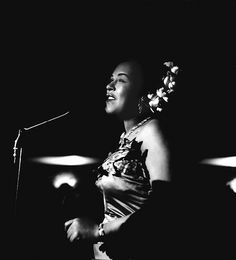 Billie Holiday, The Tiffany Club, Los Angeles, 1951 • Photographed by Bob Willoughby
