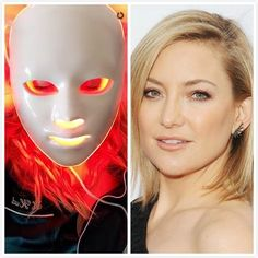 Everyone loves a celebrity endorsement! The has celebrities literally lining up to use it! Red light at stimulates skin rejuvenation, new collagen and elastin. Near infrared at is the most deeply absorbed wavelength. It plays a part in h Light Therapy Mask, Red Light Therapy, Younger Looking Skin, Facial Treatment, Plays, Kate Hudson, Beauty Stuff, Beauty Tips, Calming