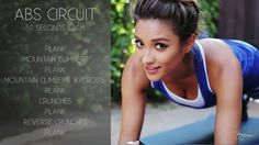 Shay Mitchell Workout routine                                                                                                                                                                                 More