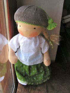 organic waldorf dandelion doll by eszterlanc8 on Etsy, $170.00