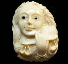 55.90 CTS MAMMOTH  FOSSIL IVORY CARVINGS [MGW453] mammoth carving , fossil mammoth carving