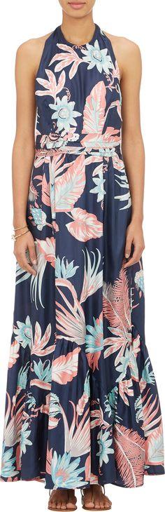 Banjanan Floral-Print Halter Maxi Dress at Barneys.com