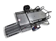 lightweight & portable motorcycle mx trailer carrier tow ... chevy silverado 7 plug trailer wiring diagram