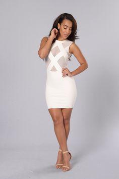 Sweetie spot beach bandeau dress white