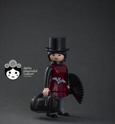 Goth Harajuku Girl Playmobil custom