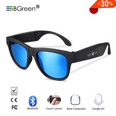 Bone Conduction Sunglasses - The wireless phone call, Wireless music touch control, Siri voice control, hands-free safe driving communication on the road. Siri, Bones, Communication, Touch, Sunglasses, Future, Music, Free, Style