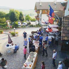 Pronti per l'aperitivo in terrazza del sabato! Questa sera #hugo! #mybelsoggiorno #valdinon #trentino
