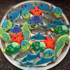 Sea Creatures Platter | Cookie Connection