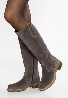 Pier One Winter boots - grey - Zalando.co.uk