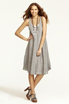 Cute Summer Linen Dress - Bree Linen Dress