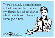 haha yep! :) I know it's got profanity, but Hey, I KNOW how to have a good time! :)