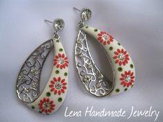 Polymer clay jewelry - Lena Handmade Jewelry