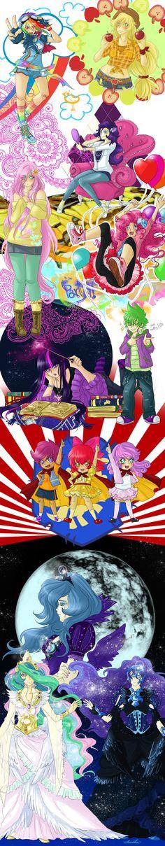 MLP:FiM Anime Style!
