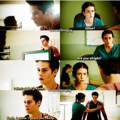 Stiles and Scott's mom - love how Melissa is just like a mom to Stiles, so sweet :) Teen wolf 3b