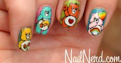 Care Bear Nails!