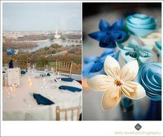 Natural light wedding photography at Top of the Town in Arlington VA