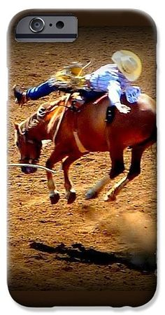 Horses IPhone 6s Case featuring the photograph Bucking Broncos Rodeo Time by Susan Garren