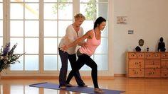 Yoga zur Stärkung des gesamten Rückens