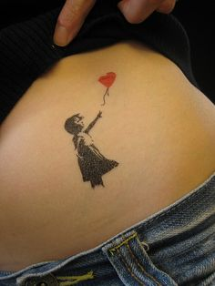 Banksy Tattoos by tattoofashion.com, via Flickr