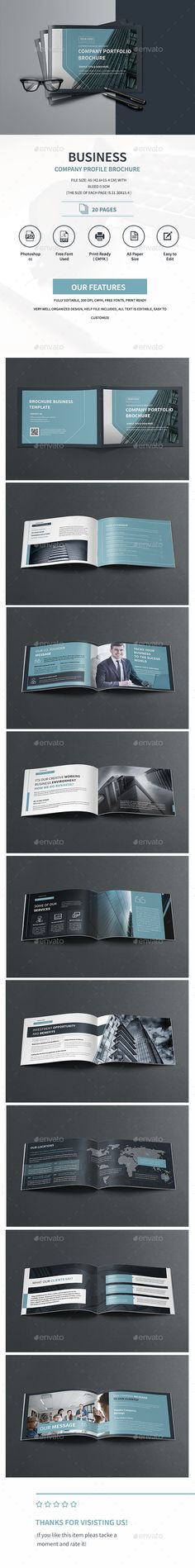 The Company Profile Company profile, Brochure template and Brochures - profile company template