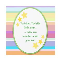 Twinkle Little Star Unisex Baby Shower Invitations by csinvitations