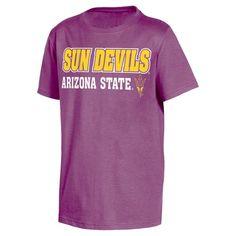 NCAA Arizona State Sun Devils Boys' Toddler 2 Pack T-Shirts - 4T,