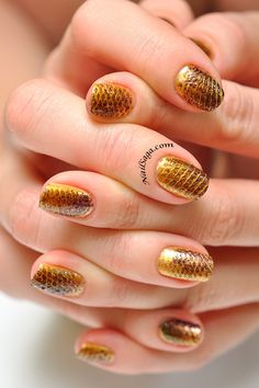 Lizard scales design Latest Nail Designs, Scale Design, Saga, Nail Art, Nails, Beauty, Finger Nails, Ongles, Nail Arts