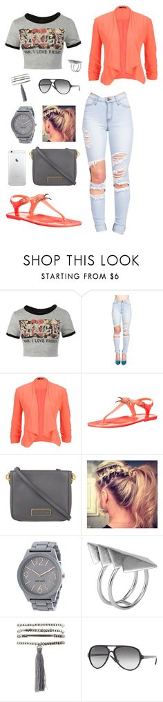 """""""MILF"""" by mels95 ❤ liked on Polyvore featuring maurices, Ted Baker, Marc by Marc Jacobs, Nine West, First People First, Charlotte Russe and Ray-Ban"""