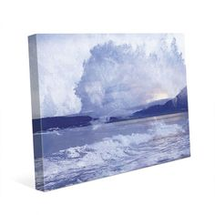 "Click Wall Art Rush Painting Print on Wrapped Canvas Size: 20"" H x 24"" W x 1.5"" D"