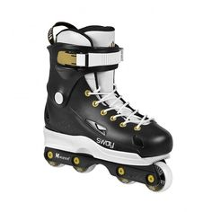 USD - Sway Team ii (Black/White/Gold) Complete Aggressive Inline Skate (CLEARANCE PRICE)