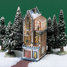 Dept-56-Christmas-in-the-City-The-University-Club-58945-RETIRED