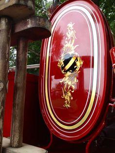 Gold Leaf Engine Turn Paint Pinstripe Amp Sign