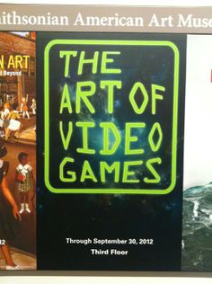 Videogames are art! Smithsonian says so!