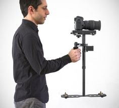 Supraflux Video Camera Stabilizer offers super smooth footage and complete control of your camera.