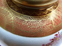 Japanese painted pottery