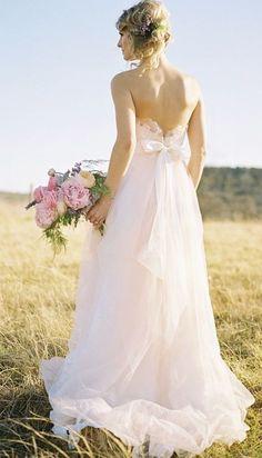 Featured Photographer: Ben Q. Photography; Wedding dress idea.