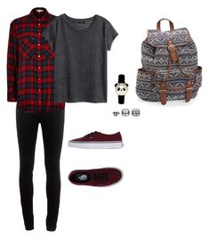 Untitled #28 by mia-tox on Polyvore featuring polyvore, fashion, style, H&M, River Island, rag & bone, Vans, Aéropostale, LULUS and clothing