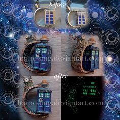 A Tardis In Space And Time by Lenne-sing.deviantart.com on @DeviantArt