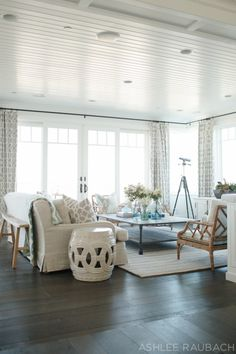 Coastal Living Rooms From Wayfair's Coastal Living Magazine Stunning Living Room Beach Decorating Ideas Design Ideas