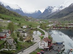 Olden, Norway, Region: Western Norway,  County: Sogn og Fjordane, District: Nordfjord, Municipality: Stryn Municipality | Olden is a village and urban area in the municipality of Stryn in Sogn og Fjordane county, Norway. Olden is located at the mouth of the Oldeelva river at the northern end of the Oldedalen valley on the southern shore of the Nordfjorden.