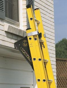 The PiViT Ladder Tool is the ultimate extension ladder leveler. This ladder leveler is a must have for any extension ladder owners. Ladder Leveler, Ladder Stabilizer, Ladder Accessories, Ladder Stands, Asphalt Roof Shingles, Milwaukee Tools, Buy Bike, Bicycle Maintenance, Paint Cans