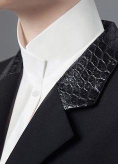 *.* Креативные воротнички белых рубашек (подборка) / Детали / ВТОРАЯ УЛИЦА