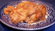 Gluten-Free Almond Apple Crumb Dessert