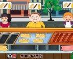 Süper Burger Büfe oyunumuza hoşgeldiniz.Oyunumuzda 7 gün bulunmaktadır ve bu yedi günde ne kadar çok para kazanabiliyorsunuz görelim.çocuk oyunları oyununda başarılar dileriz