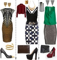 """3 FGs: DA, DW and BW"" by skugge on Polyvore"