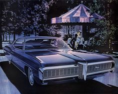 1968 Pontiac Grand Prix - 'Carousel': Art Fitzpatrick and Van Kaufman